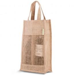 Jutetasche – Jute Wein Bag 2 Flaschen