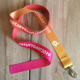 Lanyard recyceltes PET (Made in Germany)