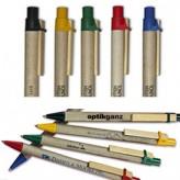 Kugelschreiber Storia flach – aus recycelter Pappe