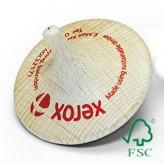Kreisel aus FSC-zertifiziertem Buchenholz