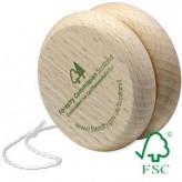 Holz Jojo – aus zertifiziertem Buchenholz