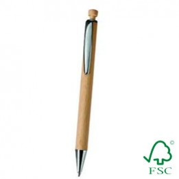 Holzkugelschreiber Slim Line – aus FSC-zertifizierter Buche