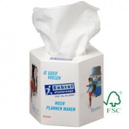 Taschentuchspender Hexagonal – FSC-zertifiziert