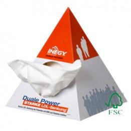 Taschentuchspender Pyramide – FSC-zertifiziert