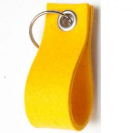 Feltcircle – Schlüsselanhänger aus Naturfilz