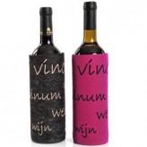 Filz-Weinflaschentasche – aus Naturwollfilz
