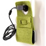 Smartphoneladestation Debby – aus Naturwollfilz