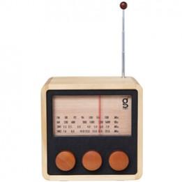 Holzradio WoodyCube