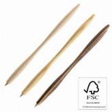 Holz Kugelschreiber Zebrano-Holz