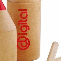 Holz Buntstifte Box