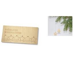weihnachtskarte holzanh nger ko werbeartikel. Black Bedroom Furniture Sets. Home Design Ideas